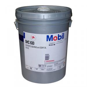 Mobil SHC 630 Synthetic Gear and Bearing Oil, 5 Gallons